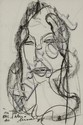 ARTUR BUAL (1926-1999), FEMALE FIGURE