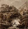 (attributable to) HUBERT ROBERT (1733-1808), LANDSCAPE WITH BRIDGE, Hubert Robert, €400