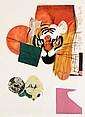 JÚLIO POMAR (B.1926), FOUR TIGERS