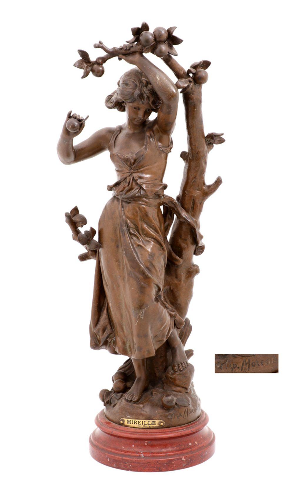 """HIPPOLYTE FRANÇOIS MOREAU (1832-1927), """"MIREILLE"""""""