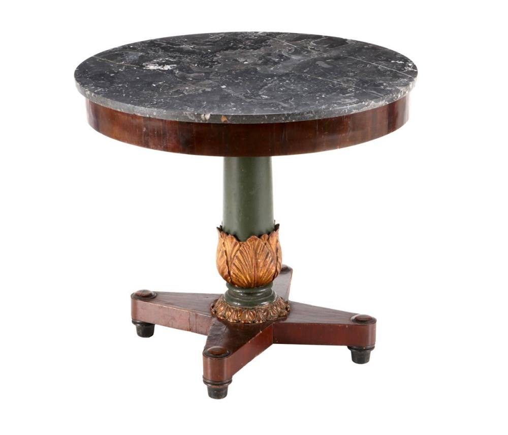 A LOUIS PHILIPPE CENTRE TABLE