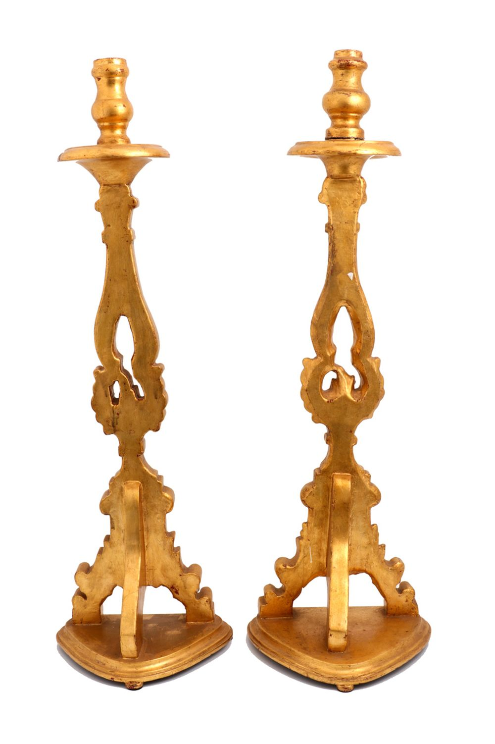 A PAIR OF TORCHÈRES