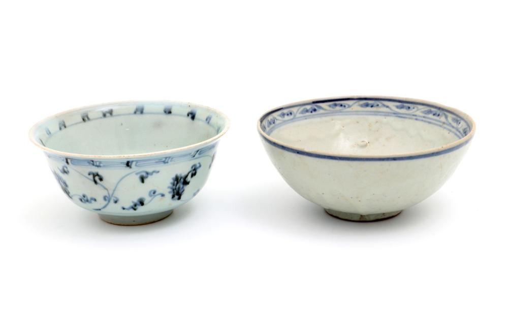 TWO MING BOWLS