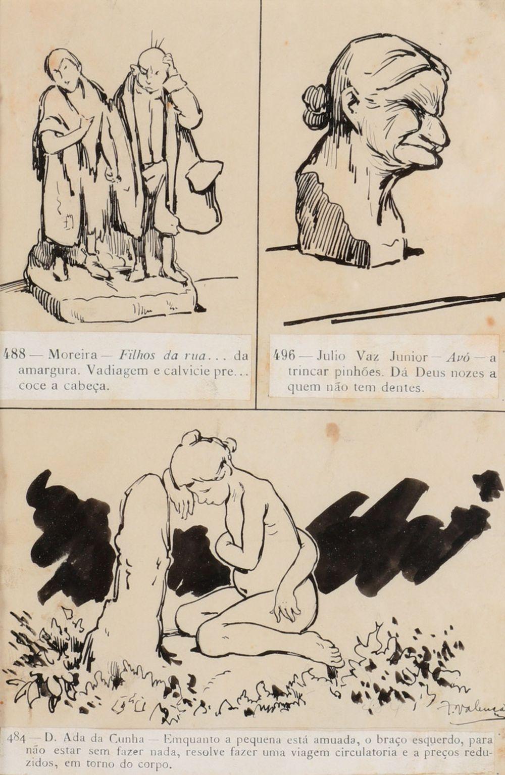 FRANCISCO VALENÇA (1882-1962), HUMOROUS SCENE