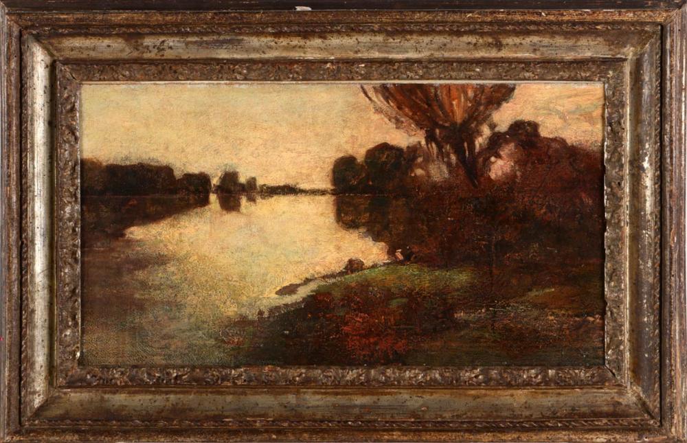 ATTRIBUTABLE TO THÉOPHILE DE BOCK (1851-1904), LANDSCAPE