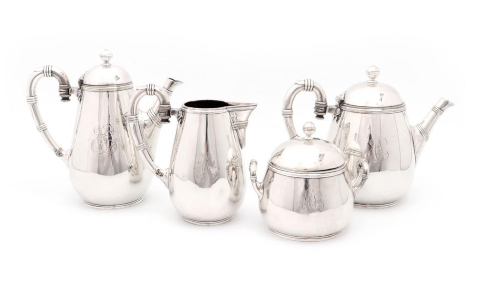 A TEA AND COFFEE SET