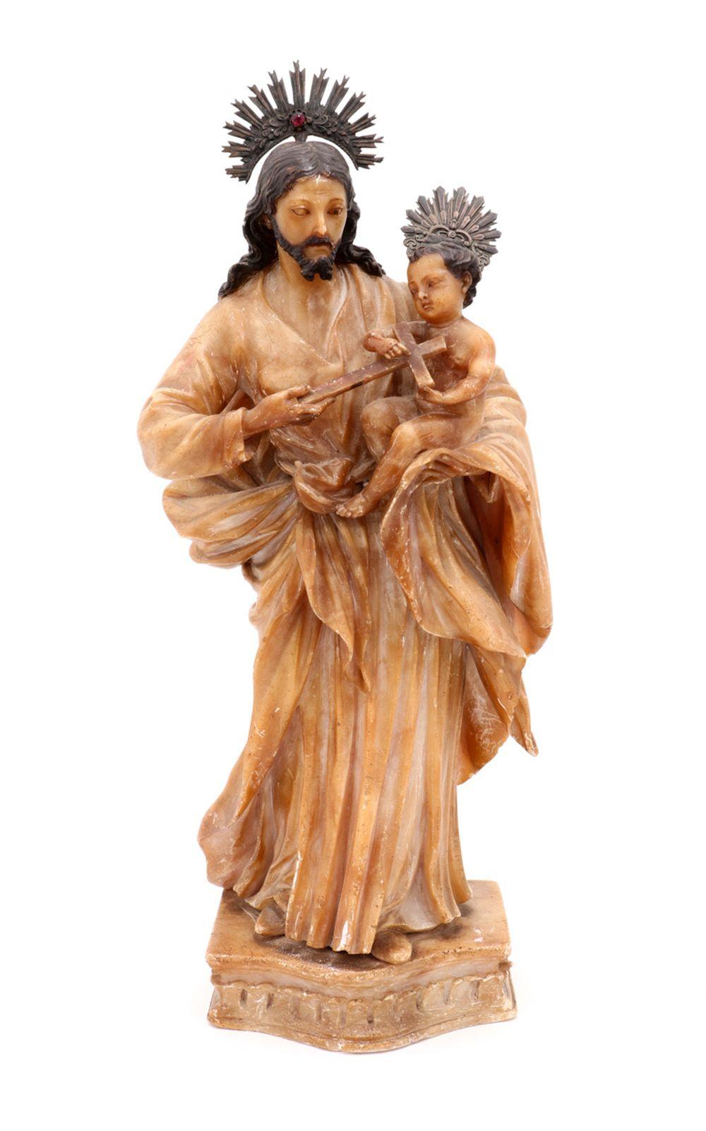 SAINT JOSEPH WITH CHILD