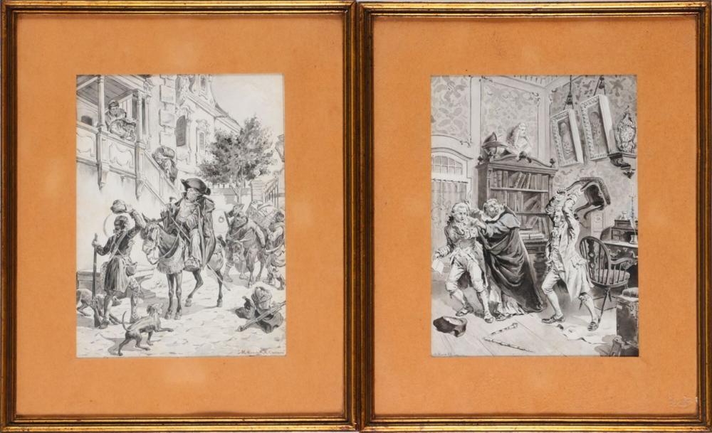 MANUEL DE MACEDO (1839-1915) E ROQUE GAMEIRO (1864-1935), ILLUSTRATION THEMES