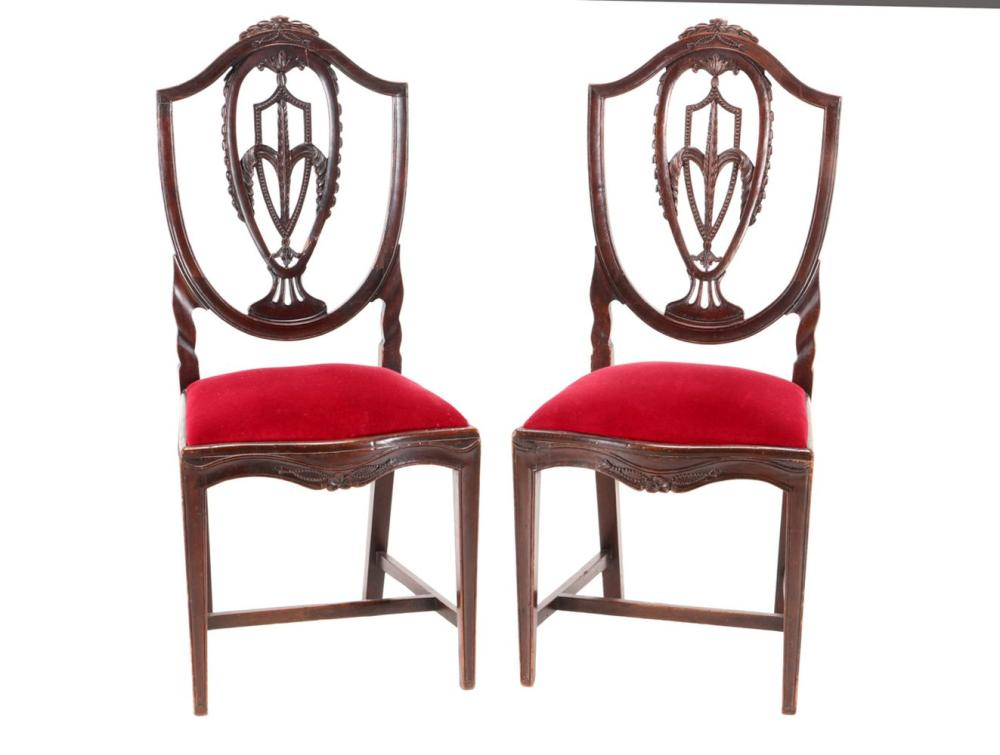 A D. MARIA (1777-1816) PAIR OF CHAIRS