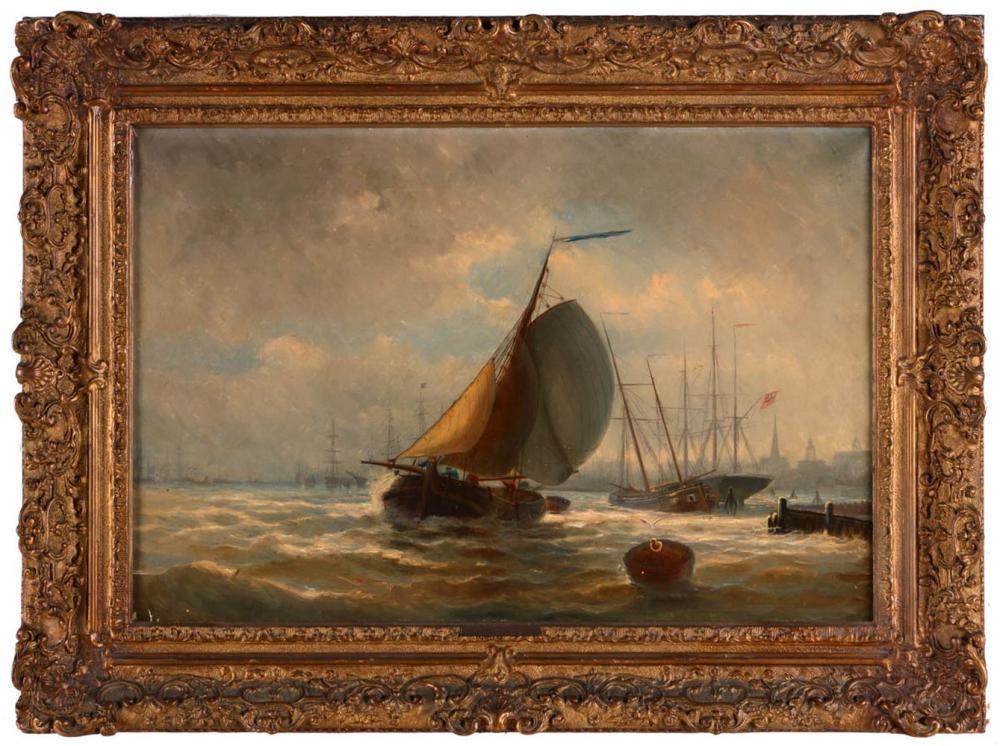 JOHAN CONRAD GREIVE (1837-1891), SEASCAPE