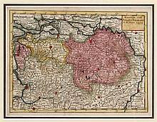 (atribuido a) JACOBUS HARREWIJN (1660-1727+), GRAVURA-MAPA