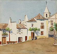 BERTHA BORGES (SÉC. XX), VISTA DE VILA VIÇOSA