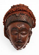 20TH CENTURY CHOKWE MASK