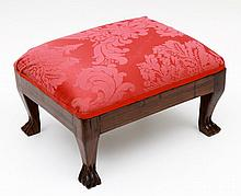 ANGLO-INDIAN STOOL