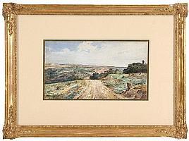 ENRIQUE CASANOVA (1850-1913), COUNTRY LANDSCAPE