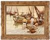 KUNZ MEYER-WALDECK (1859–1953), FRIGATES AND FISHERMEN ON THE TAGUS, Kunz Meyer-Waldeck, €1,200