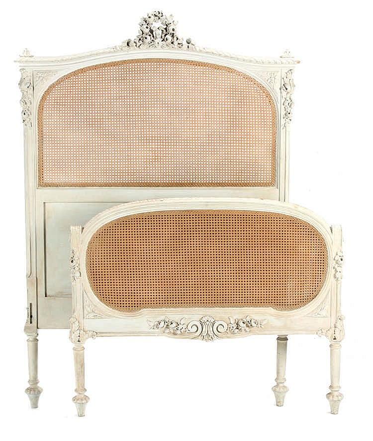 SINGLE BED LOUIS XVI STYLE