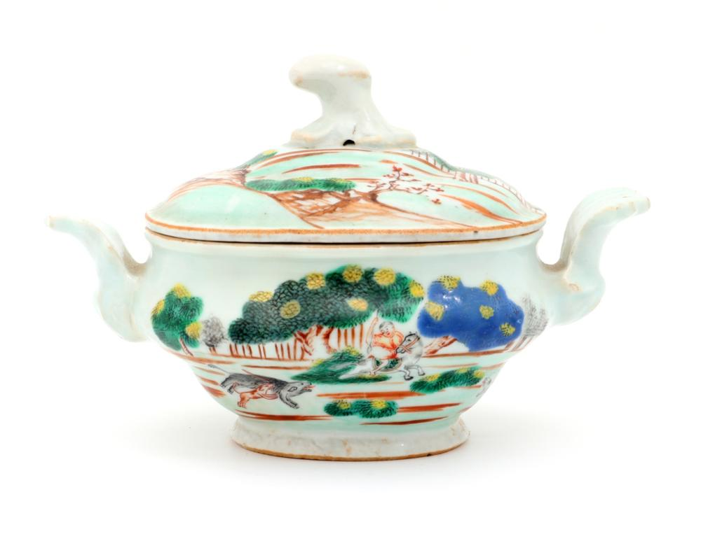 A SMALL TUREEN