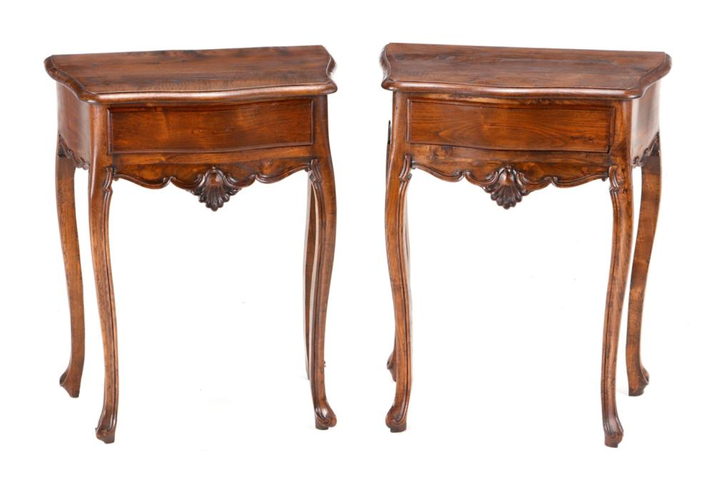A PAIR OF SMALL D. JOSÉ SIDE TABLES