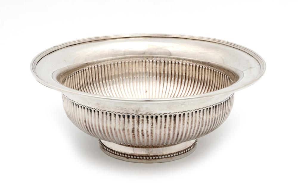 A FLUTED BOWL