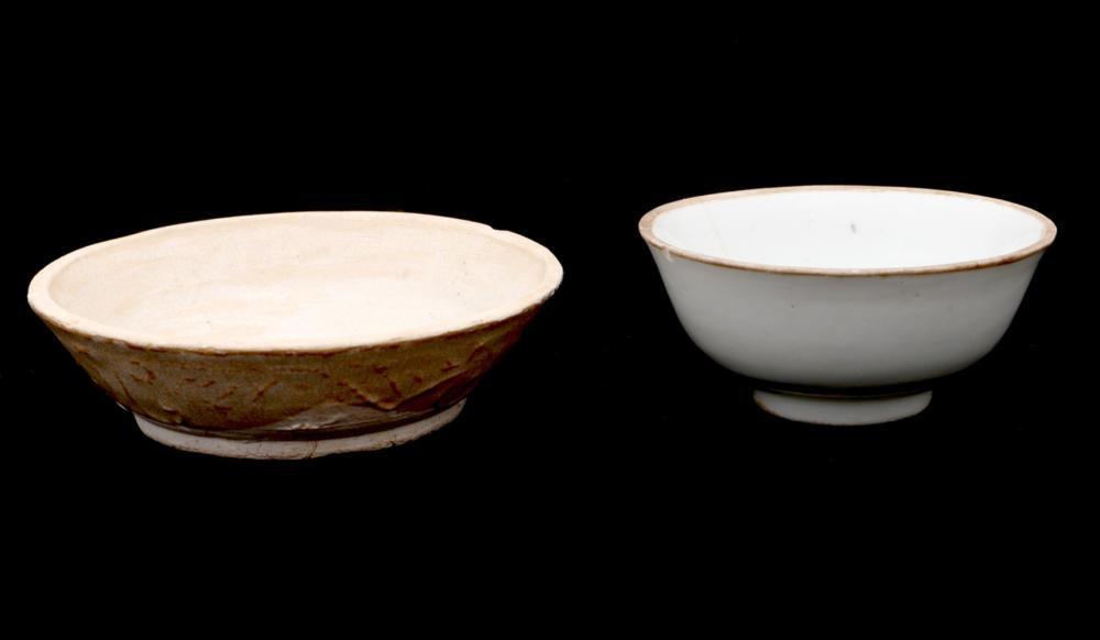 TWO SMALL BOWLS