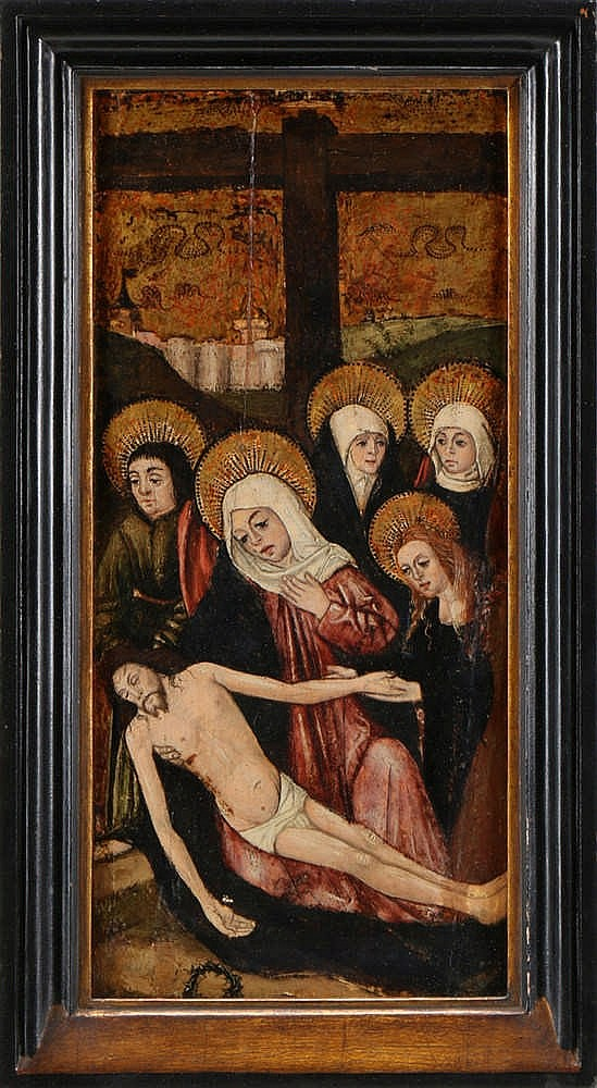 CATALAN SCHOOL, 16TH/17TH CENTURY, DESCENT FROM THE CROSS