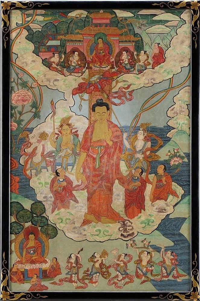 BUDDHIST TANKA