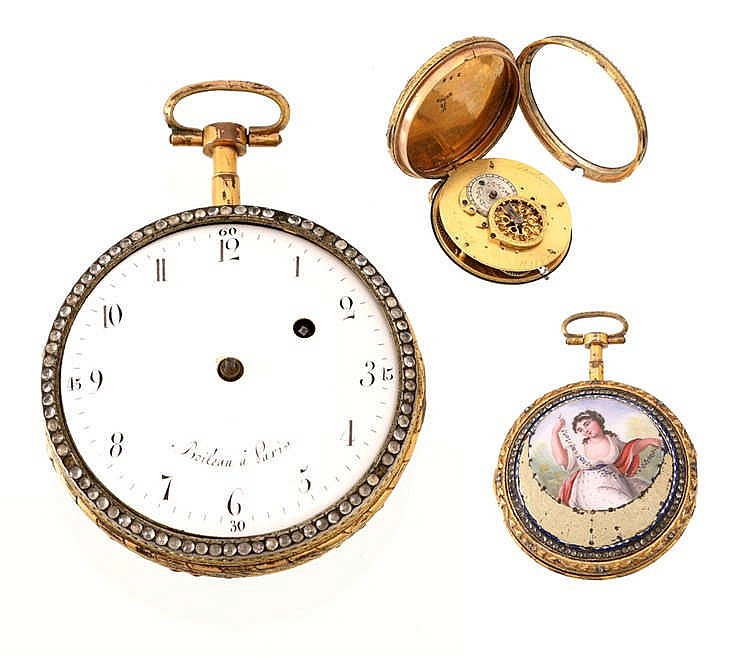 BOILEAU POCKET WATCH
