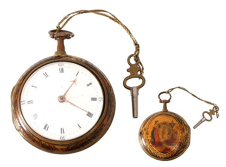 CHARLES STRAINE POCKET WATCH