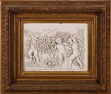 PUTTI WITH ROSES