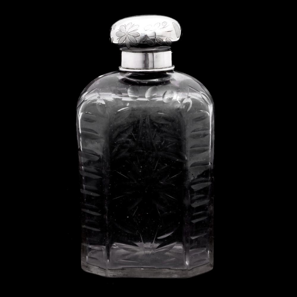 AN EIGHT-SIDED FLASK