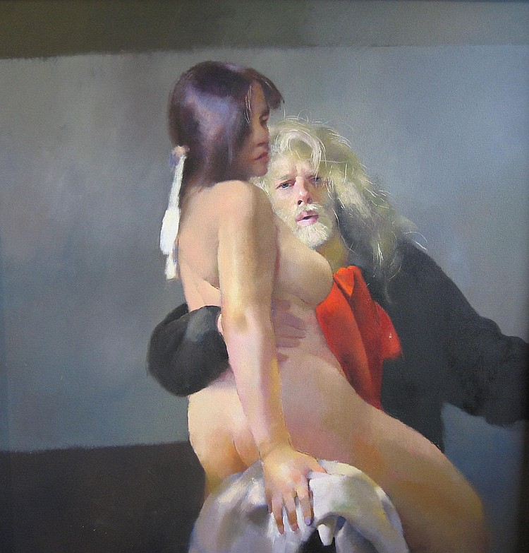 R.O. Lenkiewicz - Painter with Women, Observations