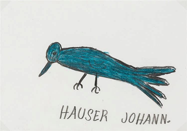 Johann Hauser, Rabe