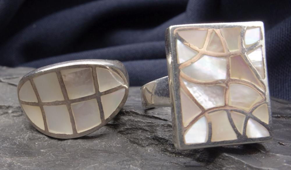TWO RINGS - 925 silver