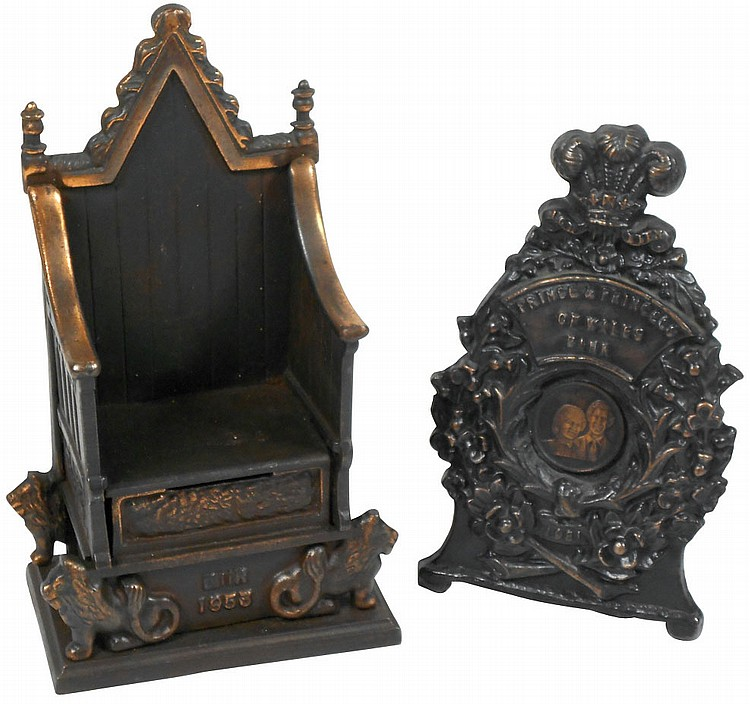 Still banks (2), English Throne (Elizabeth II),