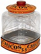 Peanut jar, Curtiss Chicos Spanish Peanuts,