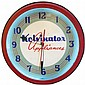 Neon advertising clock, Kelvinator Appliances,
