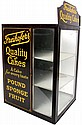 Country store cabinet w/marquee, Freihofer's