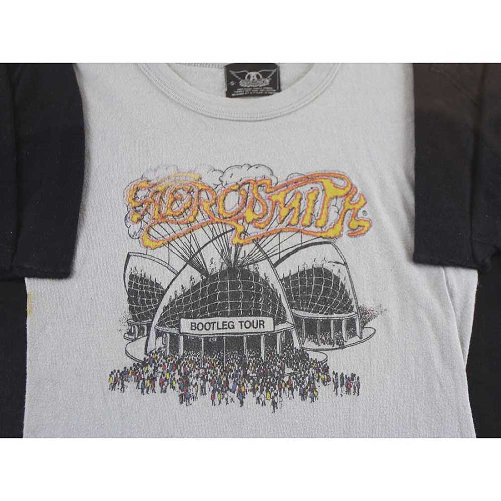 6f0e3054d Aerosmith Bootleg Tour Tshirt - Vintage
