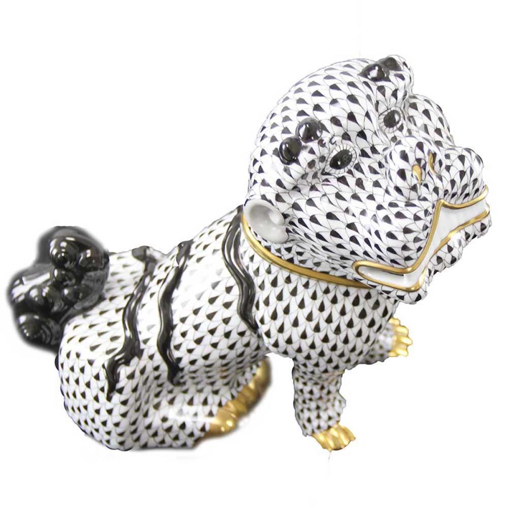 Herend Porcelain Foo Dog