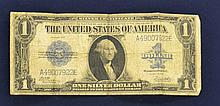 Series 1923 Large Blue Seal $1.00 Silver Certificate