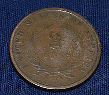 1864 US Shield 2 Cents