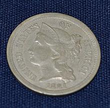 1881 Nickel 3 Cent