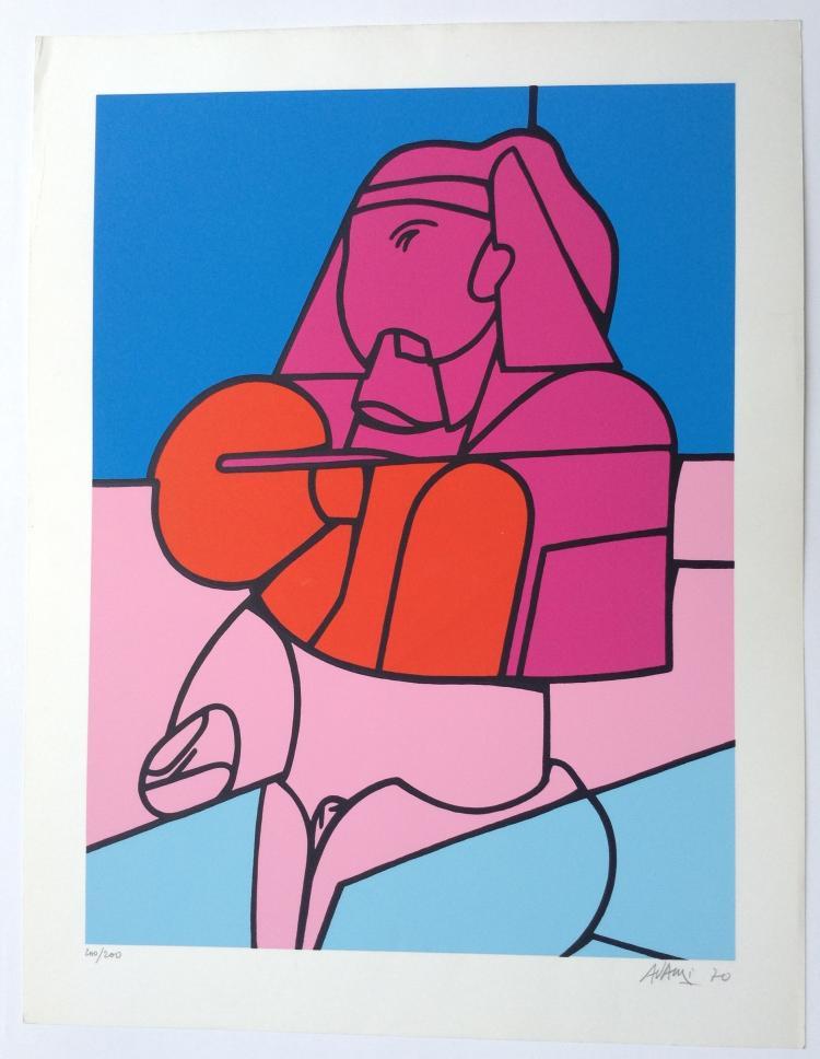 Valerio Adami, Sphinx 1970