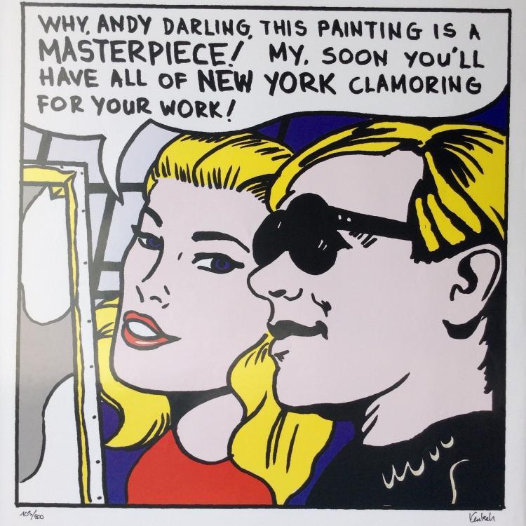 Sam Kautsch. It's a masterpiece Andy.
