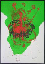 Fernandez Arman. Against Apartheid.