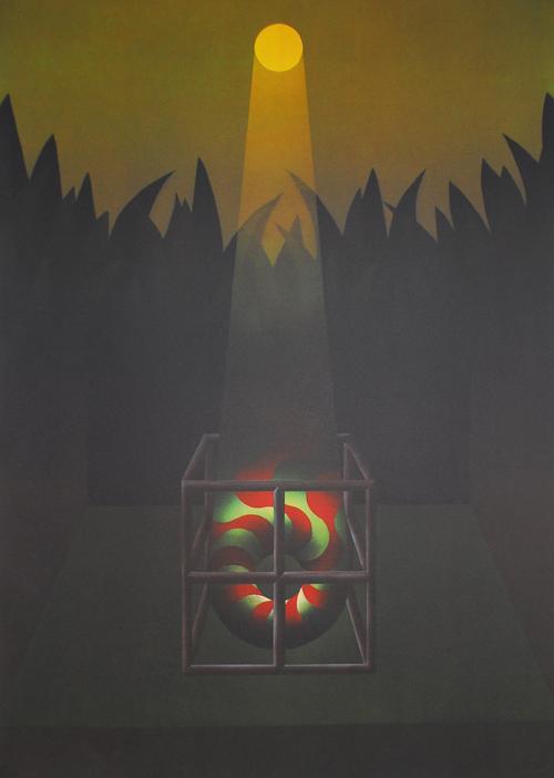 Julio le Parc. Artistes Du Monde Contre Apartheid
