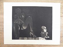 Janusz Przybylski  (1937 - 1998) Erotyk 2. Handsigned and dated 1980