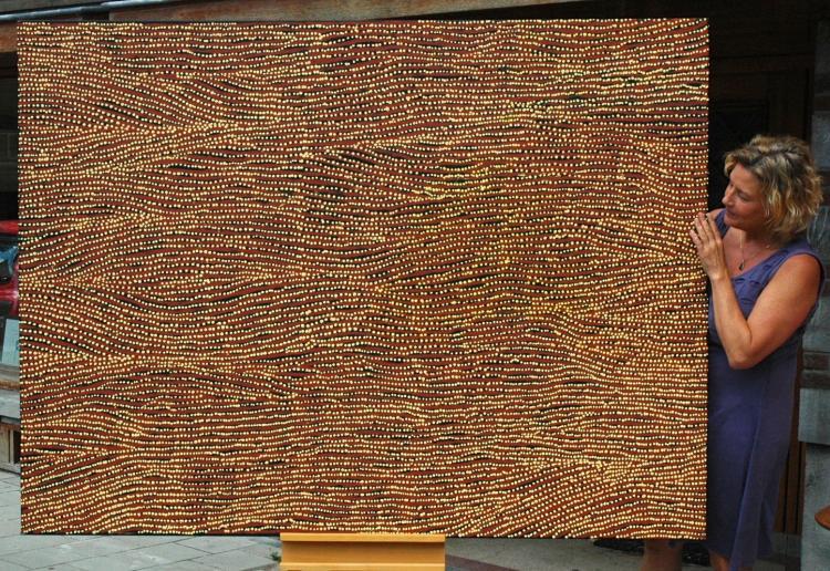 Willy Tjungurrayi. Aboriginal Art. 2013