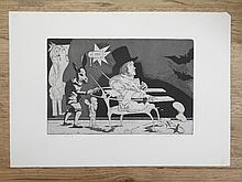 Janusz Przybylski  (1937 - 1998) Goya